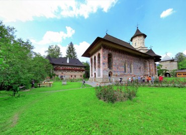 360 Virtual Tour Moldovita Monastery