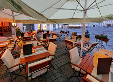 Tur virtual 360 Restaurant Intim Sibiu