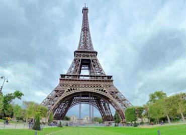 Tur virtual 360 Turnul Eiffel Paris Franta