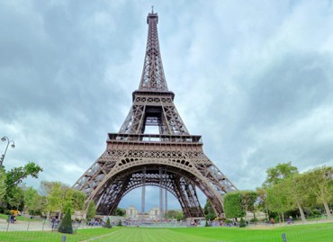 Tur virtual 360 Turnul Eiffel Paris