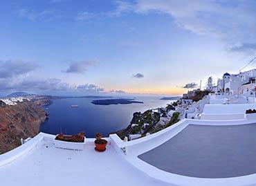 Tur virtual Santorini Grecia creat de 360Concept